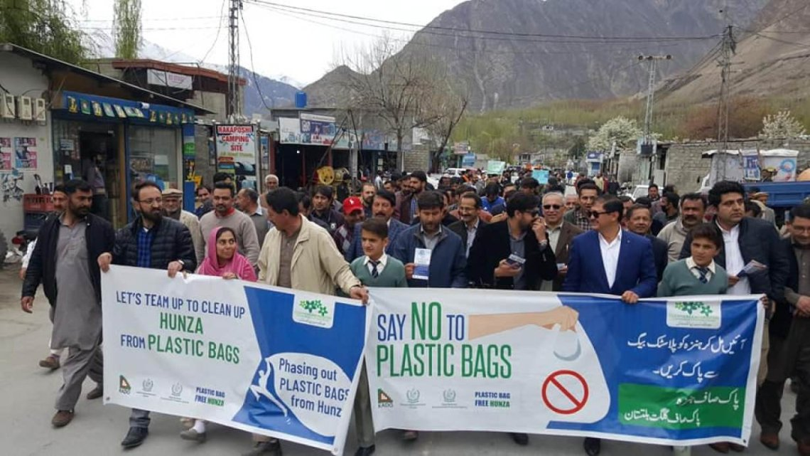 Pakistan plastic ban
