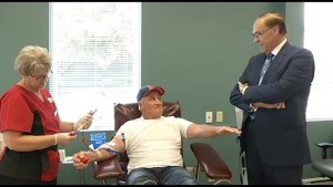 Annual Mayor's Blood Drive currently looking for donors
