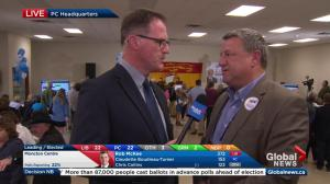 New Brunswick election: PC Party member says mood still high
