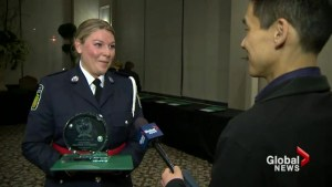Women police recognized at awards ceremony