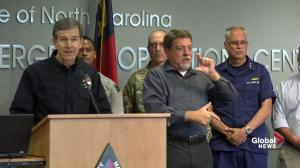 Hurricane Florence: N.C. governor says warning to stay off roads remains