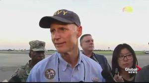Hurricane Michael: Governor Rick Scott cautions Floridians as they begin cleanup
