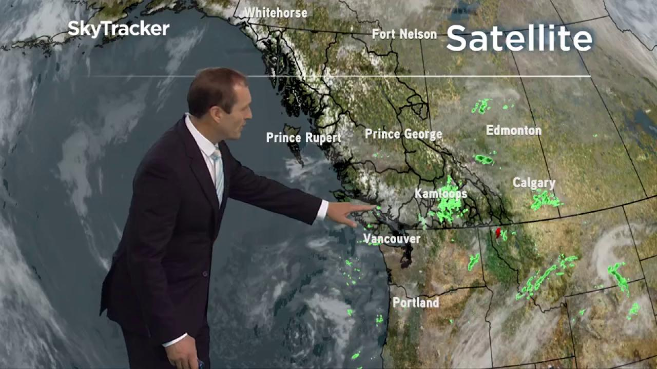 Severe thunderstorm warnings / watches in effect for southwest Alberta