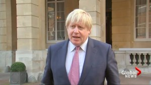 British Foreign Minister Johnson condemns killings in Berlin, Turkey