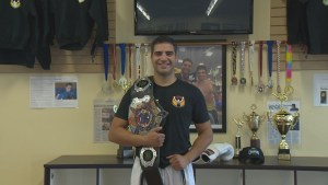 Surrey's World Kickboxing Champion Mostafa Sabeti