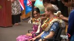 Prince Harry and Meghan Markle visit the University of the South Pacific in Fiji