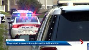 Peel police investigating double murder-suicide in Brampton