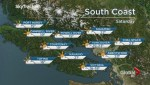 BC Evening Weather Forecast: Sep 15
