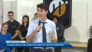 Is Trudeau's carbon tax plan a gimmick?