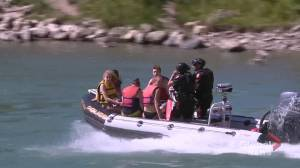Calgary emergency crews called to Bow River after reports of person in distress