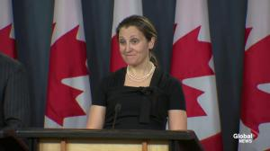 Freeland questioned about Privy Council Clerk's retirement amid SNC-Lavalin affair