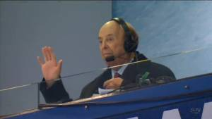 Toronto pays tribute to legendary broadcaster Bob Cole