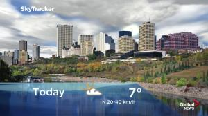 Edmonton early morning weather forecast: Thursday, September 20, 2018