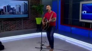 """Newfoundlander Doug Hawco performs a song from his new album """"Follow"""""""