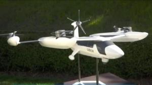 Uber hopes to spread its wings with self-flying taxis