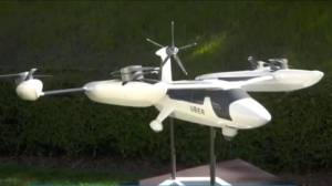 Uber hopes to spread its wings with self-flying taxis (02:10)