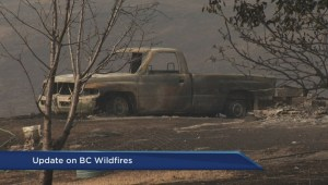 Storm helped some fires burning in B.C.