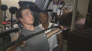 Teen loses 165 pounds without any gimmicks