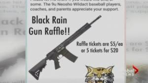 Missouri youth baseball team moves ahead with raffle of AR-15 rifle despite criticism