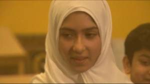 Man allegedly attacks 11-year-old girl, cuts hijab with scissors (01:49)