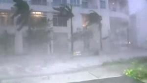 Hurricane Irma touches down in Florida