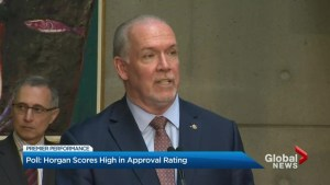Premier Horgan approval rating goes up