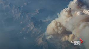 Thick smoke from B.C. wildfires continues to linger for Prairie provinces