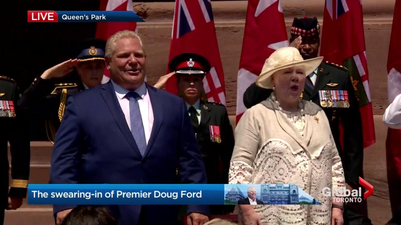 Truly humbled by the trust you have put in me' Doug Ford addresses Ontario as premier