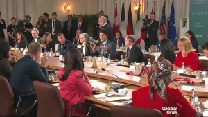 G7 leaders gather for gender equality advisory breakfast