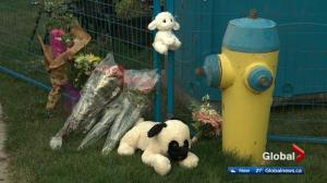 Memorial grows at scene of fatal Edmonton house fire
