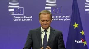 European Council president disappointed by Brexit vote