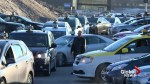 Quebec taxi drivers stage 1-day strike to protest industry overhaul