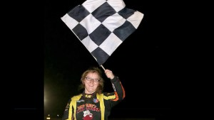 DIRTcar Sportsman-Modified racer Jessica Power