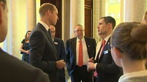 Prince William meets divers that helped rescue 12 boys from Thai cave
