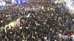 Protesters pack Hong Kong airport to demand democratic reforms