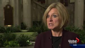Premier Notley sounds off on Ottawa's plan to impose a price on carbon