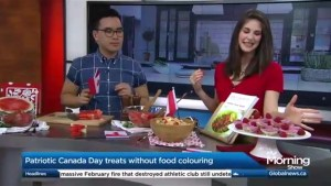 Healthy Canada Day recipes