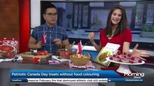 Healthy Canada Day recipes (04:08)