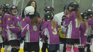 Regina lacrosse league introduces the sport to young girls
