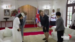 Prince Harry, Meghan meet Fiji's president