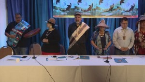 U.S. First Nation joins protest over Delta port expansion
