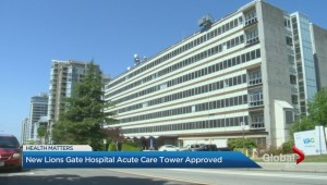 New acute care tower approved for Lions Gate Hospital