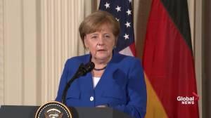 'Strength' of Trump's sanctions on N. Korea praised by Merkel