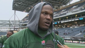 Grey Cup – Edmonton Eskimos Odell Willis Full Interview