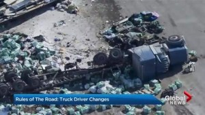 Rules of the road: truck driver changes