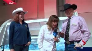 Leslie Horton talks to Dream Home winner