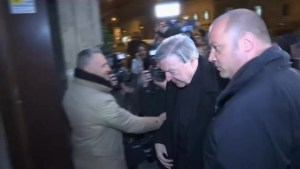 Pell in Rome to testify on Australia abuse case