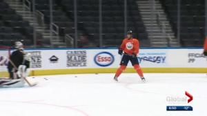 Edmonton Oilers back on the ice after all-star break
