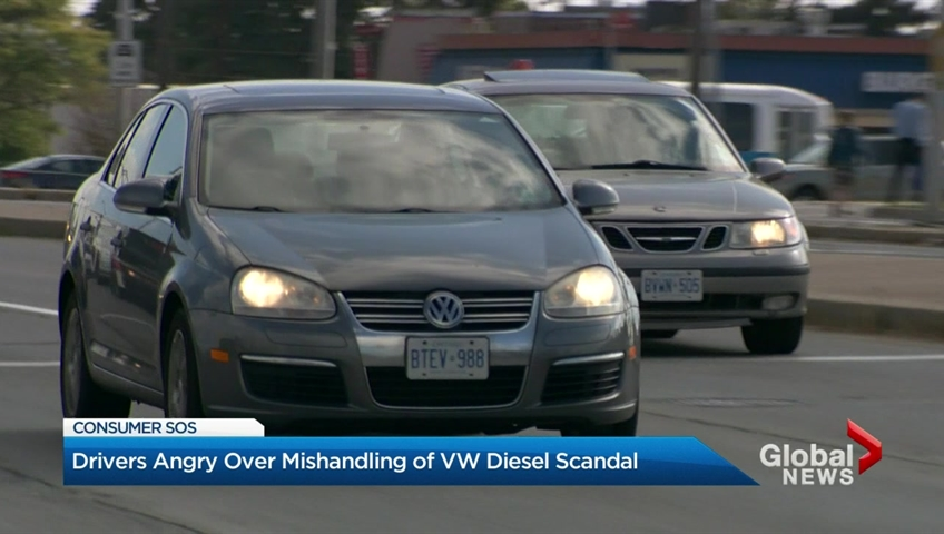 Volkswagen fined over diesel emissions scandal