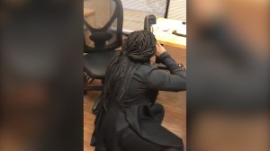 Video captures joyful law student's reaction to passing her bar exam